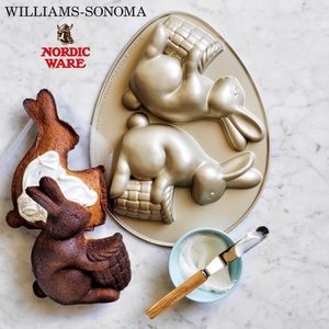 Williams-Sonoma Easter Bunny Cake Pan